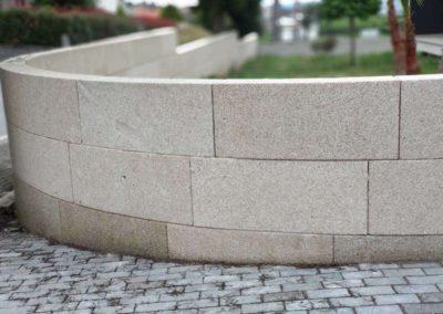 Revêtement de Mur en Granit